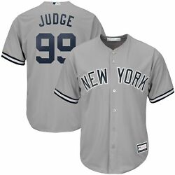 Aaron Judge New York Yankees Big And Tall Replica Player Jersey - Gray