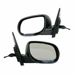 Manual Remote Mirror Set Of 2 For 2010-2013 Kia Forte Left And Right Manual Fold