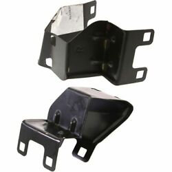Bumper Bracket For 2002-2005 Mercedes Benz C230 23 Chassis Coupe Models Set Of 2