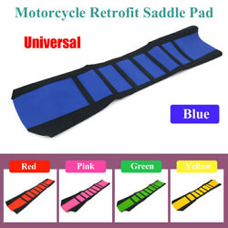 Motorcycle Dirt Bike Refit Waterproof Soft Seat Protect Cover Sunscreen Cushion