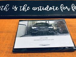 2018 Chrysler 300 300c Owners Manual User Quick Gude Limited Touring Awd Sealed