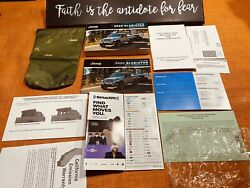 💥💥new 2020 Jeep Gladiator Owners Manual User Rubicon Truck Overland Sport 💥💥