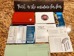 💥 2018 Fiat 124 Spider Owners Manual User Guide Set Classica Lussso 160hp New💥