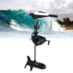 45lbs 12v Electric Trolling Motor Outboard Fishing Boat Engine Short Shaft New
