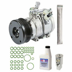 For Toyota Tundra V8 Double Cab 03-04 Oem Ac Compressor W/ A/c Repair Kit
