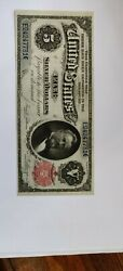1891 5 Silver Certificate Grant Note Fr267