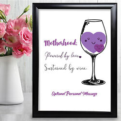 Personalised Gifts For Mum Mother Mothers Day Birthday Her Keepsake Card Mummy