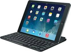 Logicool Ultra Slim Magnet Clip Keyboard Cover For Ipad Air.