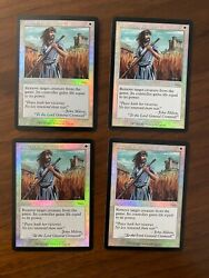 4x Foil Fnm Swords To Plowshares - Magic The Gathering - Mtg - Card
