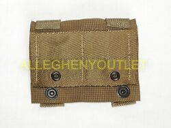 Lot Of 5 - Us Military K-bar Adapter, Molle, Pals, Coyote Brown, Mint