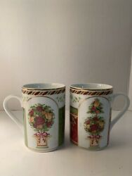 Royal Albert Old Country Roses Seasons Of Colour Afternoon Tea Mugs Cups