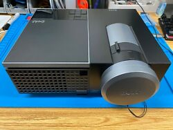 Dell 4310wx Dlp Conference Room Projector 1280x800 Broken Lamp Sold Separate
