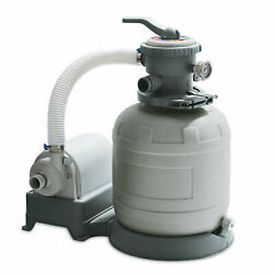 Summer Waves 12'' Sand Filter Pump System For Above Ground Pools For Parts