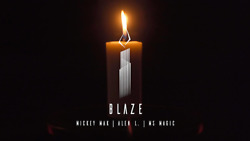 Blaze The Auto Candle By Mickey Mak Alen L. And Ms Magic - Trick