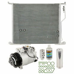 For Mercedes Cl500 And S600 W220 A/c Kit W/ Ac Compressor Condenser And Drier Tcp