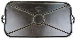Vintage Wagner Ware 1050 Cast Iron Long Griddle Cleaned Condition