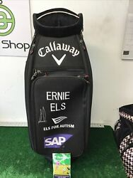 Callaway Golf Ft Fusion Staff Bag Signed By Ernie Els