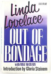 Out Of Bondage By Linda Lovelace With Mike Mcgrady 1986 Hardcover