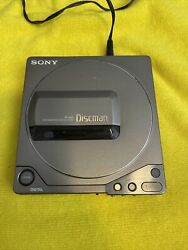 Vintage Sony D-25s D25 Discman Cd Player Silver Starts And Stops Needs Repairs🔥