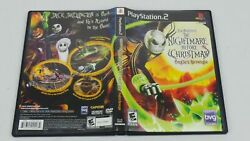 Nightmare Before Christmas Oogieand039s Revenge Ps2 Sony Playstation 2 Complete