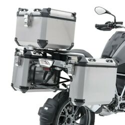 Set Valises Laterales Alu Pour Honda Africa Twin Crf 1000 L 18-19 + Top Case Adx