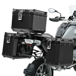 Valises Laterales Alu Pour Honda Africa Twin Crf 1000 L 18-19 + Top Case Adx130b