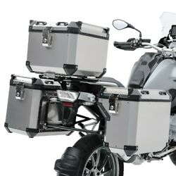 Valises Laterales Alu Pour Triumph Tiger 900 / Gt / Rally 20-21 + Top Case Adx13