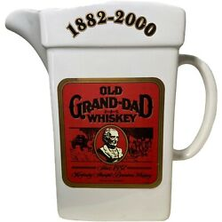 Old Grand-dad Whiskey Pitcher Limited Edition No. 1 Of 200 Vintage 1882-2000