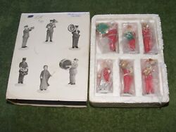 Department 56 Heritage Village Collection Salvation Army Band Set Of 6 Porcelain