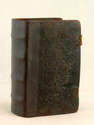 1637 King James Bible And Psalmes Book Of Common Prayer And Genealogies