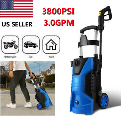 3800psi 3.0gpm Electric Pressure Washer High Power Washer Machine For E 04