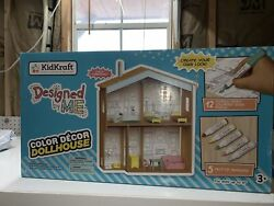 Kidkraft Designed By Me Color Decor Dollhouse Toy New
