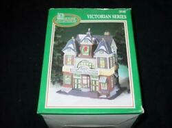 Dickens Collectables Village Theatre - Victorian Series Lighted Christmas + Box