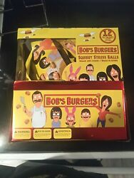 Bobs Burgers Squishy Stress Balls Complete Set With Display