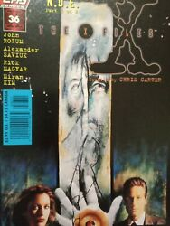 The X Files 0 - 36 Lot Of 10 - Topps Comics - 1st Ed. - Very Good