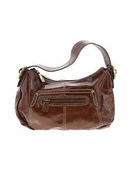 Fossil Women Brown Leather Shoulder Bag One Size