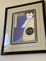 Patrick Nagel Signed/numbered Paper Mill