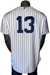 Majestic Authentic Collection New York Yankees Alex Rodriguez 13 Jersey Size 48