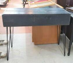 Repurposed Ammo Box Console Table With Hairpin Legs