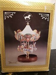 4 Horse Tobin Fraley Willitts Limited Edition American Carousel Waltz Music-read