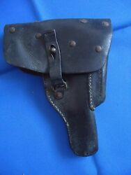 Portugal Military Gun Leather Holster Walther P38 Luger