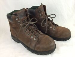 Wolverine Work Boots Menandrsquos 13 Med Oil Resistant Used