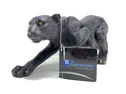 World Of Wonders Black Panther Statue Figurine Wild Animal 6 Dwk Collection