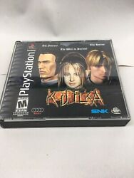 Koudelka Sony Playstation 1 Ps1 Cib Complete With Manual Reg. Card And Box