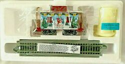 Hawthorne Village Ho Rudolph Christmas Town Express Train Caboose With 1 Elf