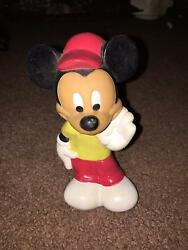 Vintage Disney Playskool Mickey Mouse Baby Toy/ Squeeky Toy