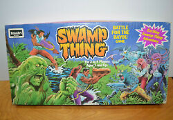 Vintage Swamp Thing Board Game Complete Unused 1991 Dc Comics Retro Toy Roseart
