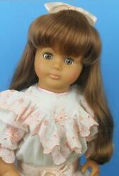 W Germany Lissi Batz Doll 20 Reddish Brown Hair Signed Body Limited Ed Collect