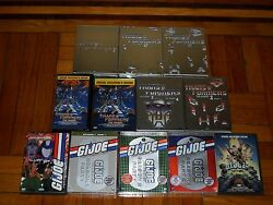 Transformers/g.i. Joe Generation 1 The Complete Collections Dvd