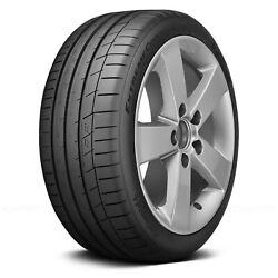 Continental Set Of 4 Tires 285/40zr17 W Extremecontact Sport Performance